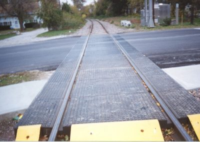 Rail-Way rubber crossing photo 1